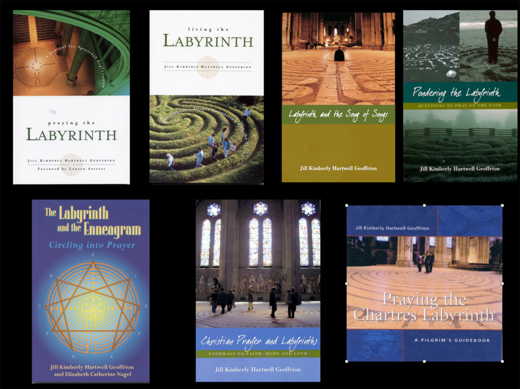 7 Labyrinth books by Jill K H Geoffrion, author