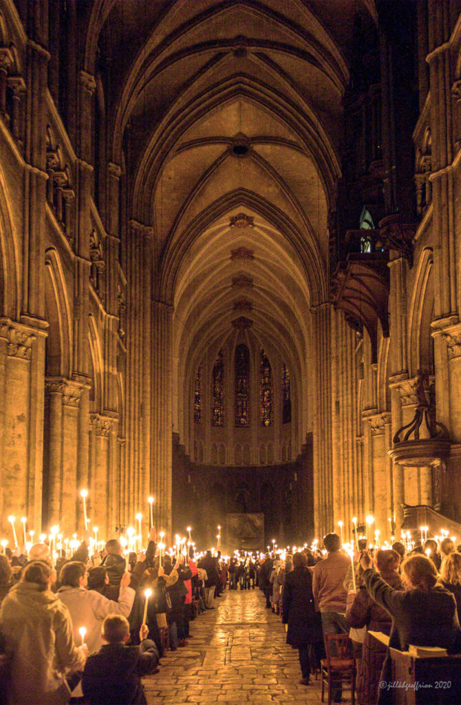 Easter Vigil at Chartres Cathedral