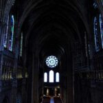 Nave of Chartres Cathedral by Jill Geoffrion