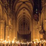 Easter Vigil Chartres Cathedral by Jill Geoffrion