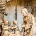 The Nativity: Chartres Cathedral Choir by Jill Geoffrion