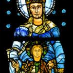 Notre Dame de la Belle Verriere Chartres by Jill Geoffrion