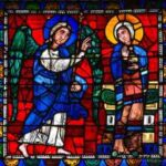 Annunciation, Chartres Cathedral by Jill Geoffrion