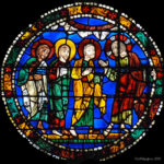 Jesus Announces His Death, Chartres by Jill Geoffrion