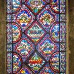 Noah Window, Chartres Cathedral by Jill Geoffrion