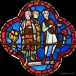Noah's Family Discussing, Chartres Cathedral by Jill Geoffrion