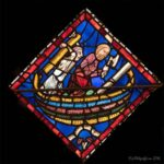 Building Noah's Ark, Chartres Cathedral by Jill Geoffrion