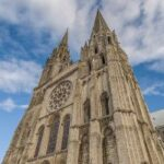 West Wall Chartres Cathedral by Jill Geoffrion