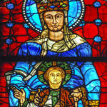 Mary & Jesus Chartres Cathedral by Jill Geoffrion