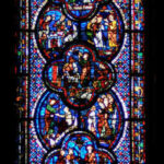 St. John Window, Chartres by Jill Geoffrion