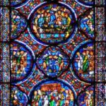 Glorification of Mary Window, Chartres by Jill Geoffrion