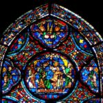 Crowning of Mary, Chartres by Jill Geoffrion