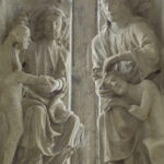 God Creates Eve & Adam, Chartres by Jill Geoffrion