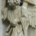 Angel with Flaming Sword, Chartres by Jill Geoffrion