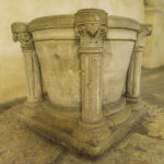12th-century Baptismal Font, Chartres by Jill Geoffrion