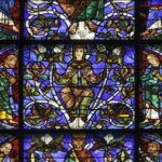 Mary, Tree of Jesse, Chartres by Jill Geoffrion