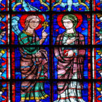 Annunciation, East Window, Chartres by Jill Geoffrion