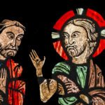 Jesus Appears to Disciples, Chartres by Jill Geoffrion