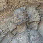 Jesus, West Tympanum, Chartres by Jill Geoffrion