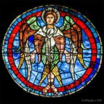 Cherubim, West Rose, Chartres by Jill Geoffrion