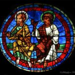 Apostles, W Rose of Chartres by Jill Geoffrion
