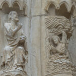 God Creating the Firmament, Chartres by Jill Geoffrion