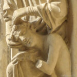 Adam's Head in God's Lap, Chartres, by Jill Geoffrion