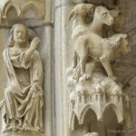 God Creating the Animals, Chartres