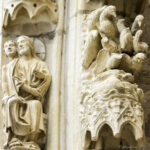 God imagining Adam, North Porch, Chartres