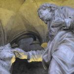 Jesus Heals A Blind Man, Chartres by Jill Geoffrion