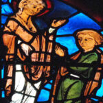 Mary & Theophilus, Chartres by Jill Geoffrion