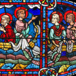 Apostle Miracle, Chartres by Jill Geoffrion