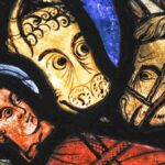 The Nativity, Life of Mary, Chartres, by Jill Geoffrion