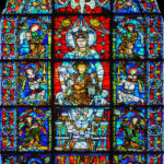 Belle Verriere window, Chartres by Jill Geoffrion