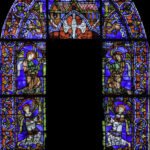 Partial view Our Lady of the beautiful Window Chartres, Jill Geoffrion