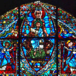 Mary, Top of Window, Chartres by Jill Geoffrion
