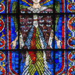 Seraphim, Stained Glass, Chartres by Jill Geoffrion
