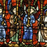 Angels, Notre Dame de la Belle Verriere Chartres by Jill Geoffrion