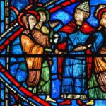 Wedding, Life of Mary, Chartres by Jill Geoffrion