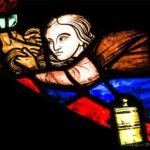 Mary Magdalene Anoints Jesus, Chartres Cathedral by Jill Geoffrion