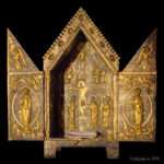 Jesus on Cross, Tabernacle, Chartres by Jill Geoffrion