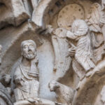 Joachim and an angel, Chartres Cathedral