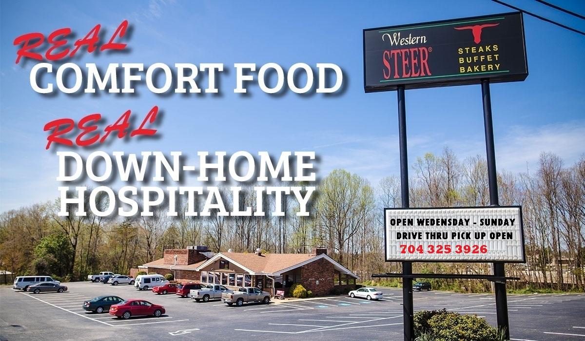 Real Comfort Food, Real Down Home Hospitality