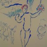 Artist: Chagall (Unsigned) Title: Firebird