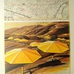 Yellow Umbrellas Poster by Christo