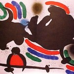 Miro Lithograph I, Number IV