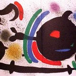 Miro Lithograph I, Number X