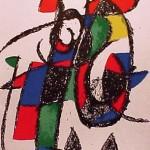 Miro Lithograph II, Number II