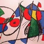 Miro Lithograph II, Number VIII