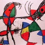 Miro Lithograph II, Number X